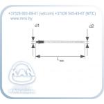 Элемент для подключения к отопительному прибору, из многослойной трубы, Lmin = 500 мм