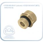 Ниппель для распределителя или для трубы коллектора с герметизирующей прокладкой типа O-Ring