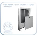 Шкафчик встраиваемый SWPS с эмалированной рамкой для распределителя без / и со смесительной системой, с изгибом кромки рамки 45°