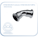 STEEL Отвод 45° press