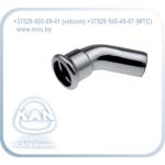 STEEL Отвод ниппельный 45° press
