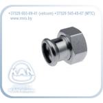 STEEL Соединитель разъемный с внутренней резьбой press (с плоским уплотнением)