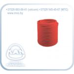 Труба защитная гофрированная (пешель) - красная